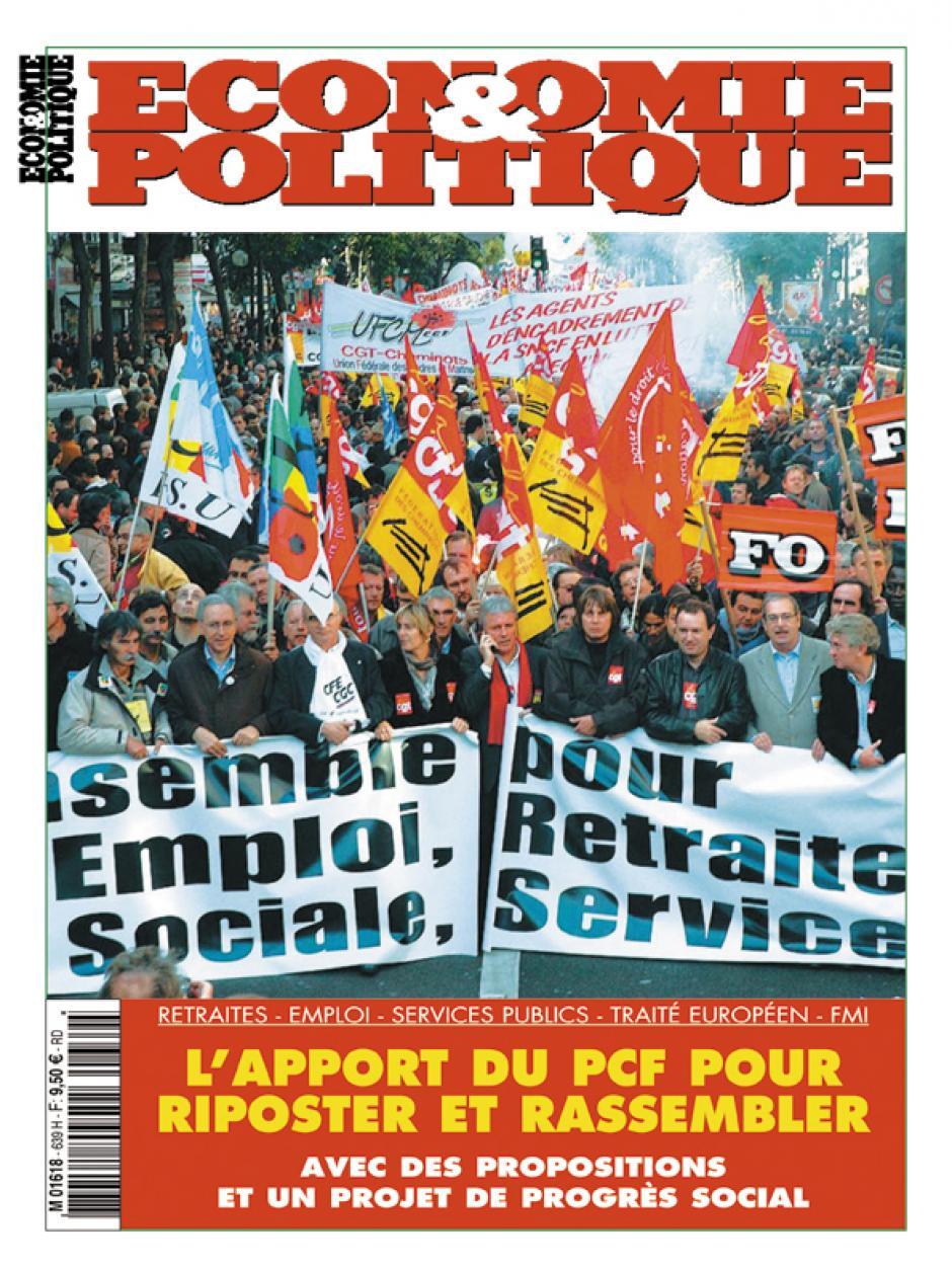 Economie & Politique  septembre-octobre 2007