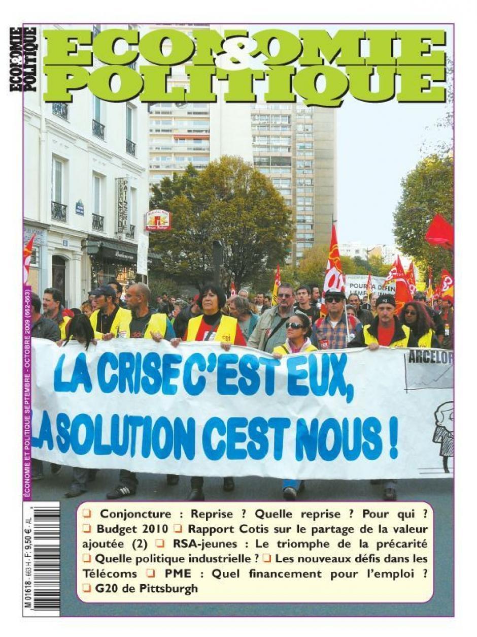 Economie & Politique de septembre-octobre 2009