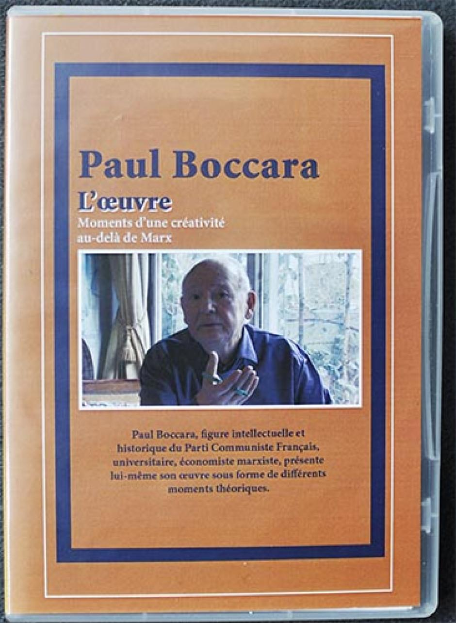 Photo DVD Paul Boccara