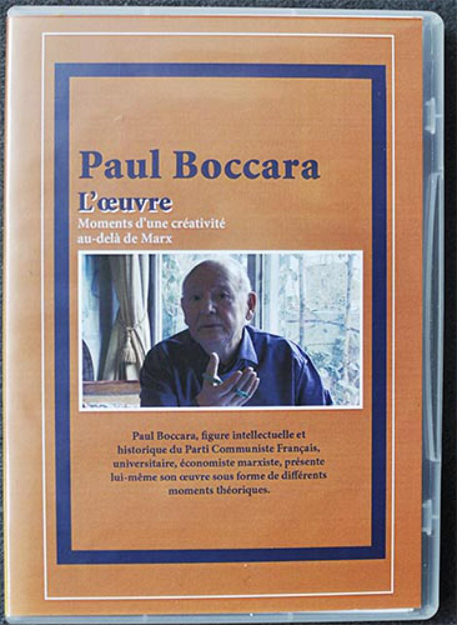 Portrait de Paul Boccara intellectuel communiste