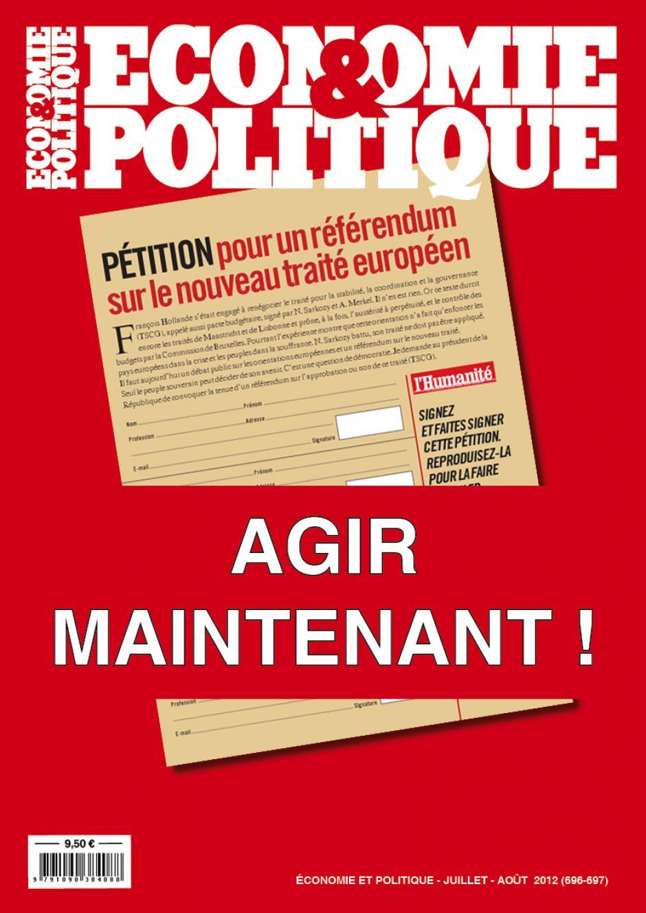Economie & Politique de juillet-août 2012 (en accès libre)