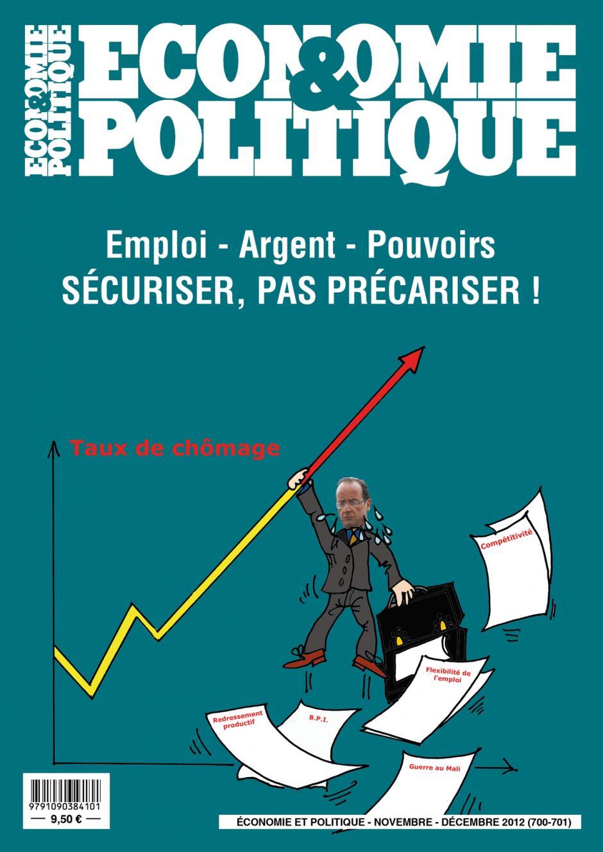 Economie & Politique de novembre décembre 2012
