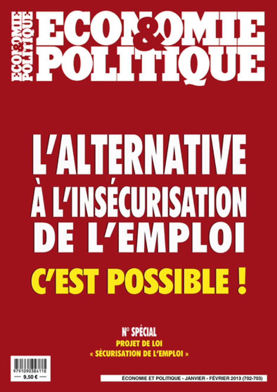 Economie & Politique de janvier-fvrier 2013