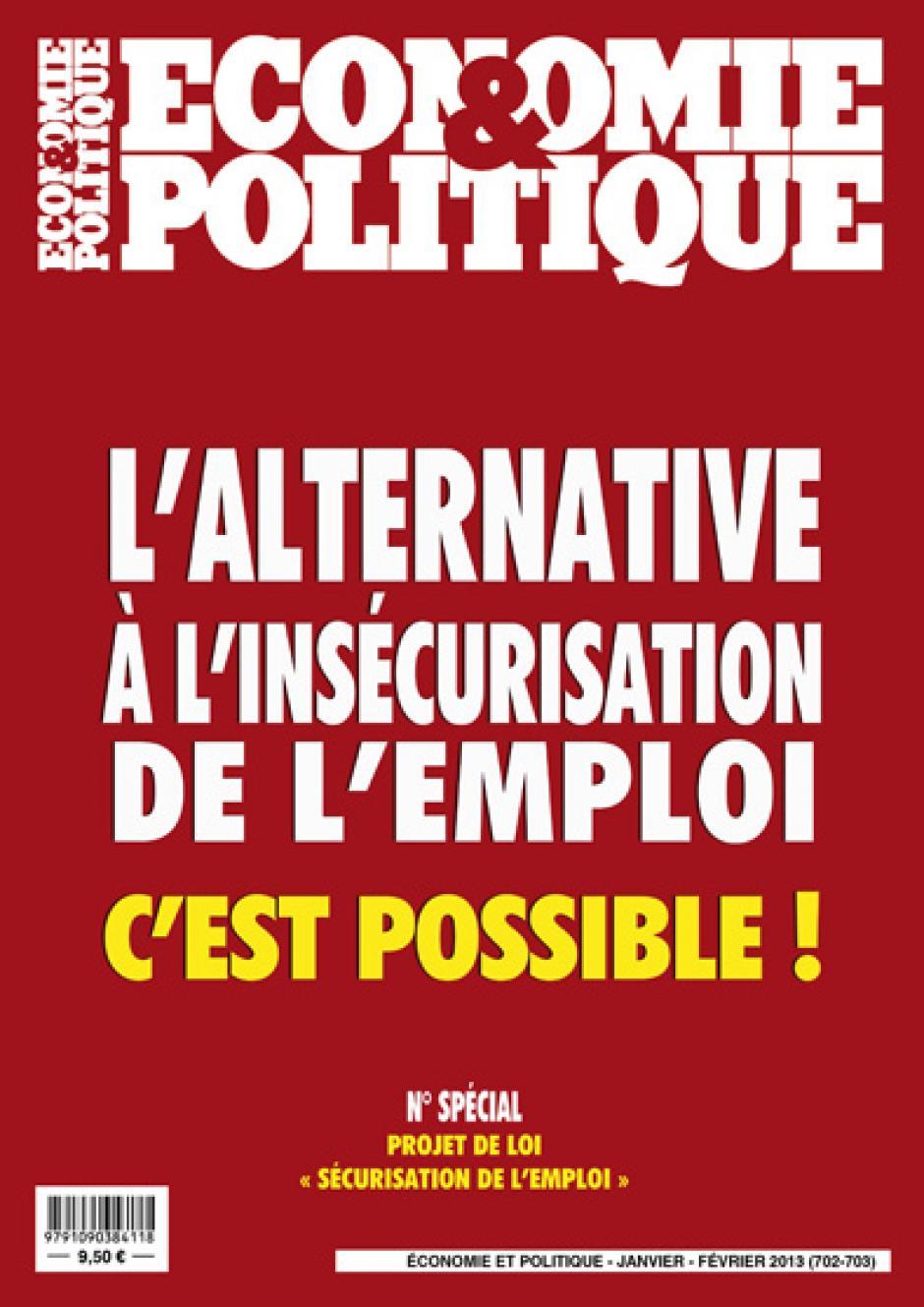 Economie & Politique de janvier-février 2013