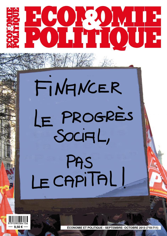 Economie et Politique Septembre-Octobre 2013