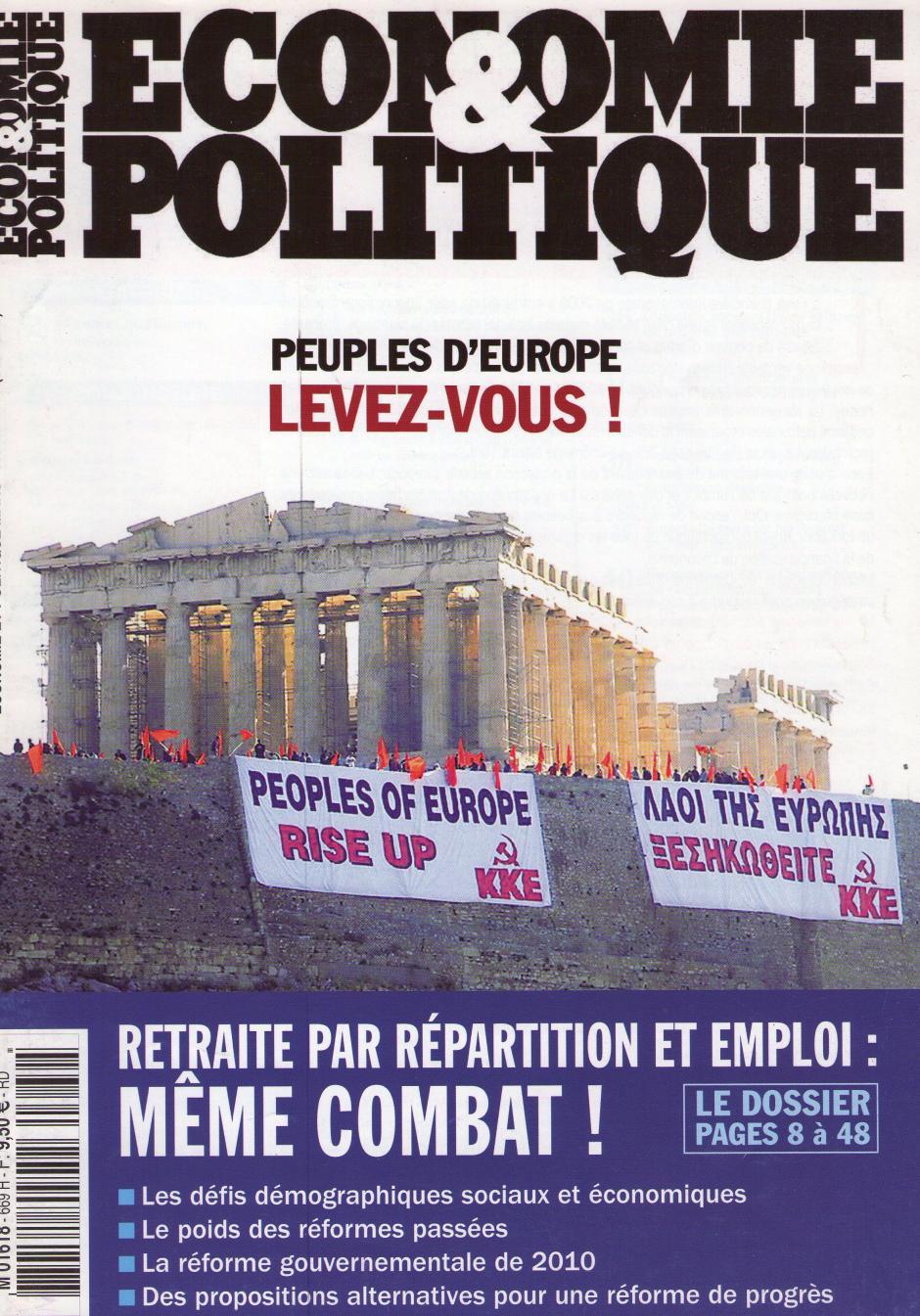 Economie & Politique de mars-avril 2010