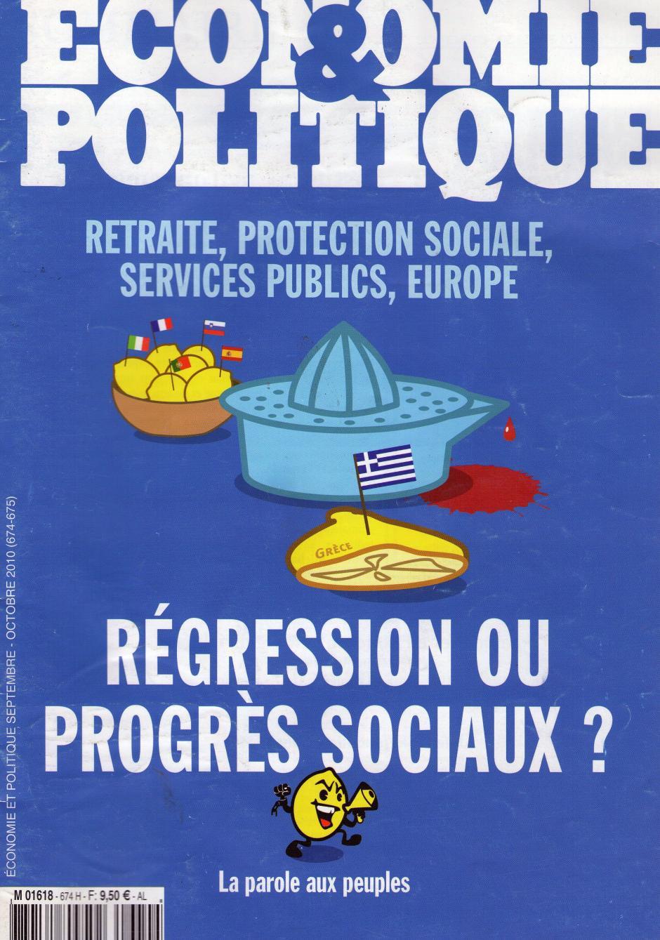 Economie & Politique de septembre-octobre 2010