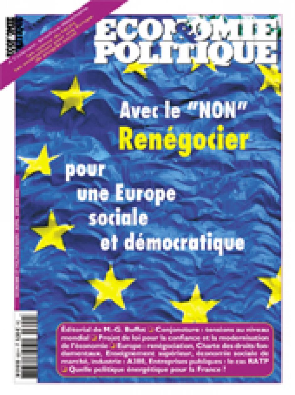 Economie & Politique de mars-avril 2005