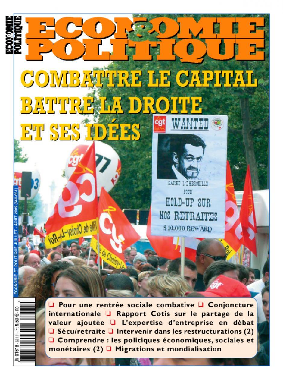 Economie & Politique de juillet-août 2009