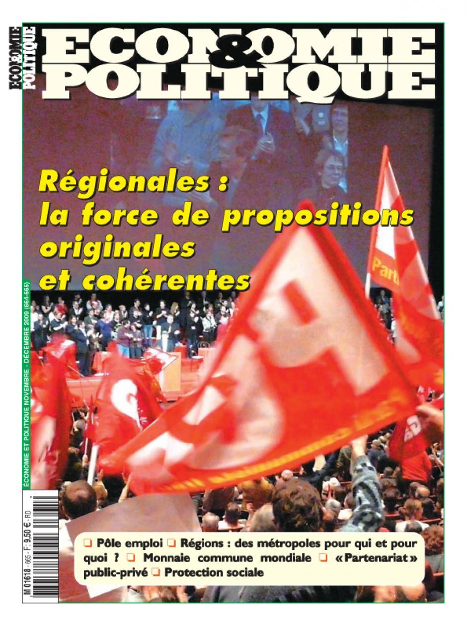 Economie & Politique de novembre-décembre 2009
