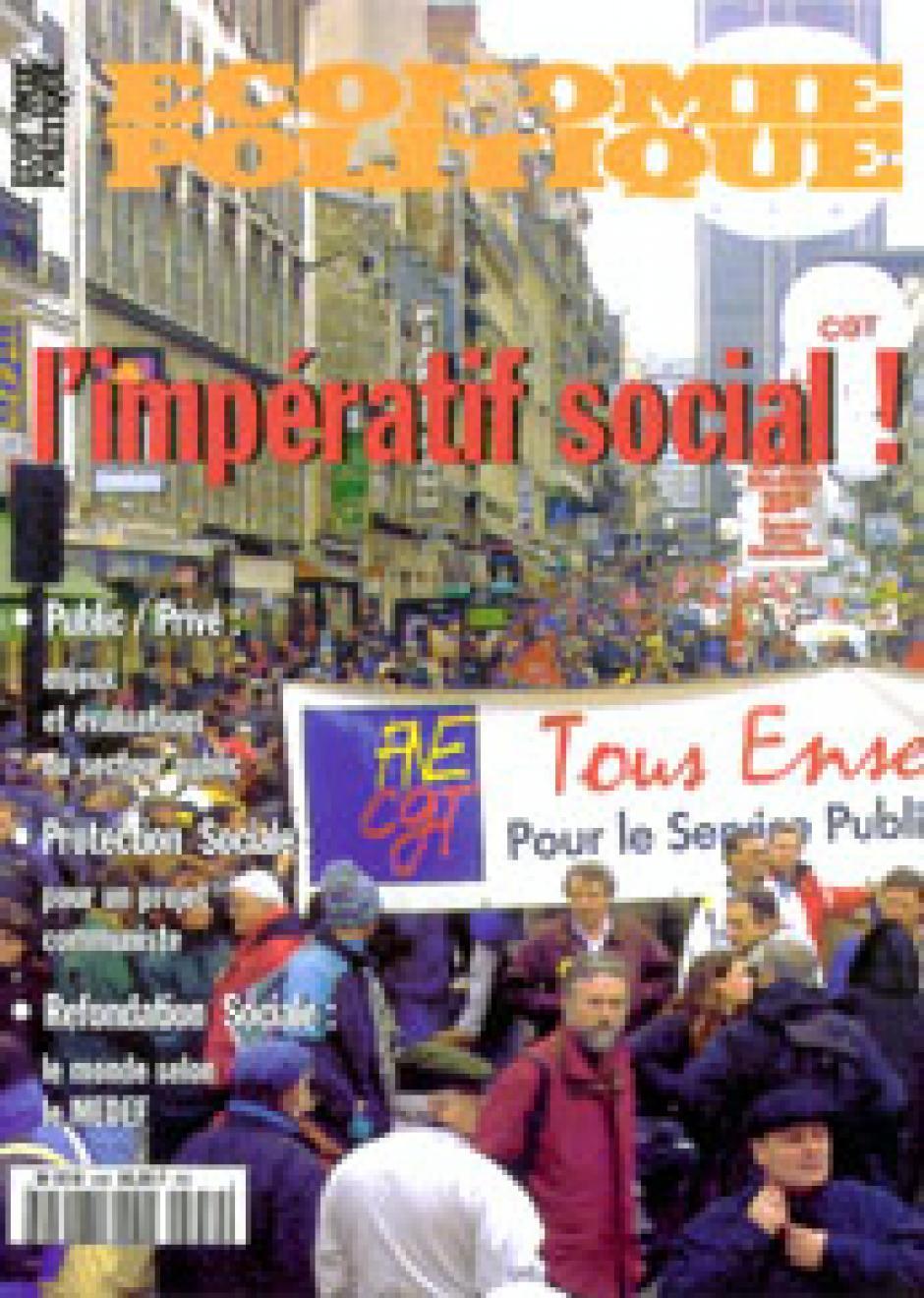 Economie & Politique de janvier-février 2001