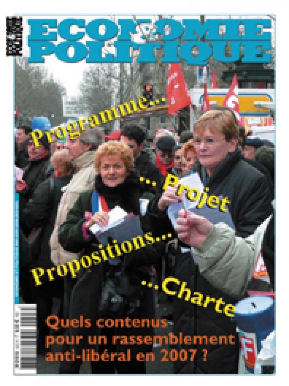 Economie & Politique de mai-juin 2006