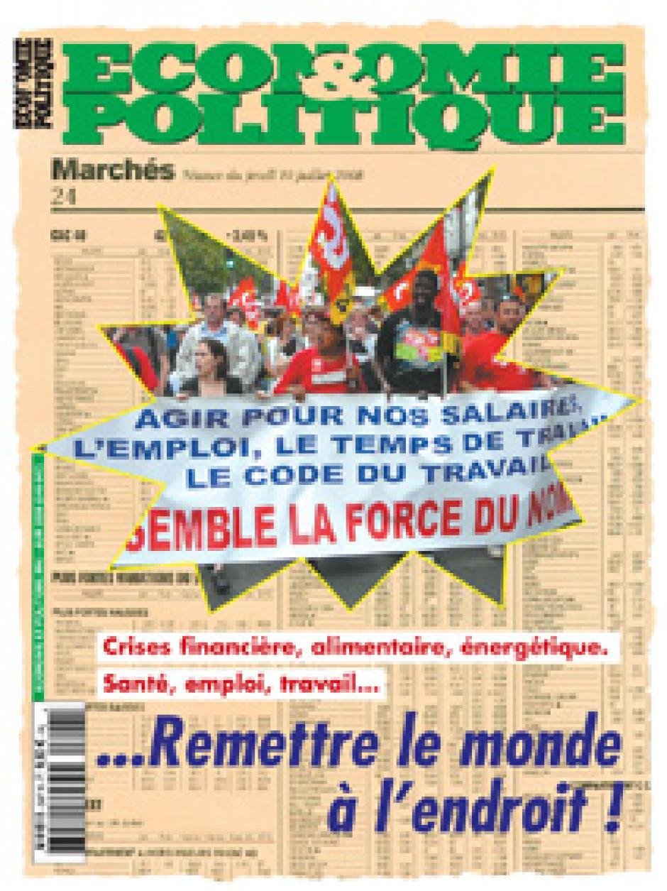 Economie & Politique de mai-juin 2008