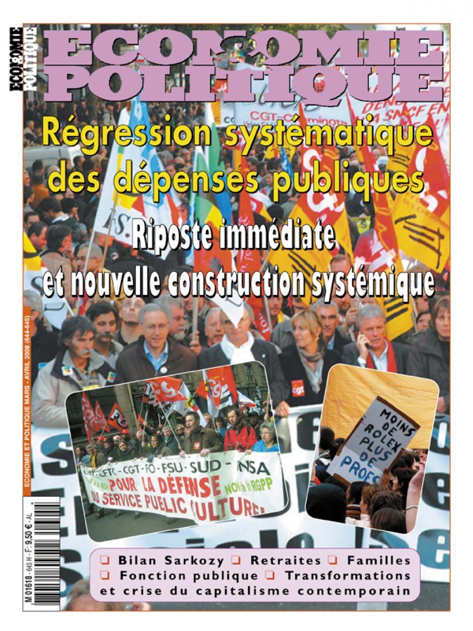 Economie & Politique de mars-avril 2008