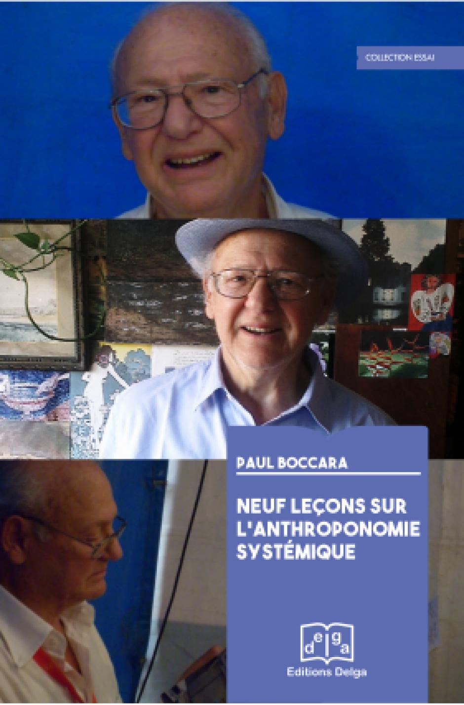 Neuf leçons sur l'anthroponomie systémique de Paul Boccara